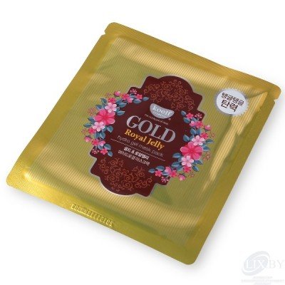 """koelf Гидрогелевая маска для лица """"Золото и пчелиное маточное молочко"""""""