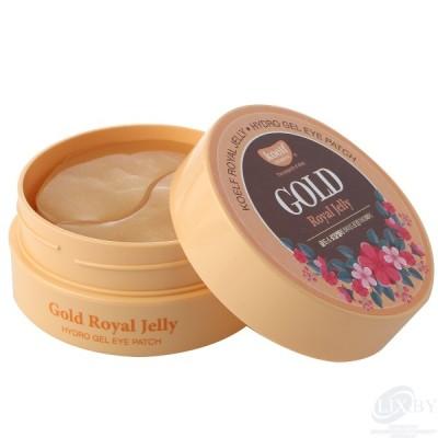 """koelf Гидрогелевые патчи для области вокруг глаз """"Золото и пчелиное маточное молочко"""""""