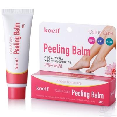 koelf Бальзам-пилинг против огрубевших участков кожи