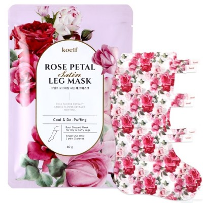 koelf Rose Petal Маска-гольфы для ухода за голенями