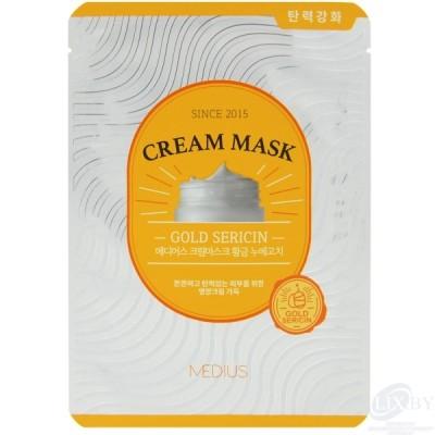 MEDIUS Крем-маска для лица, Золотой серицин