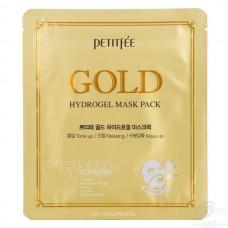 """PETITFEE Гидрогелевая маска для лица """"Золото"""""""