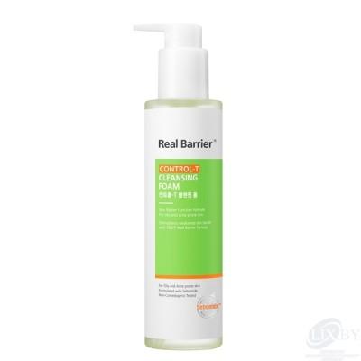 Real Barrier Control-T Очищающая пенка для лица, для проблемной и/или жирной кожи